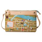 Greetings from Savannah Map Crossbody